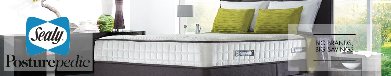 Sealy Beds Collection available at Forrest Furnishing