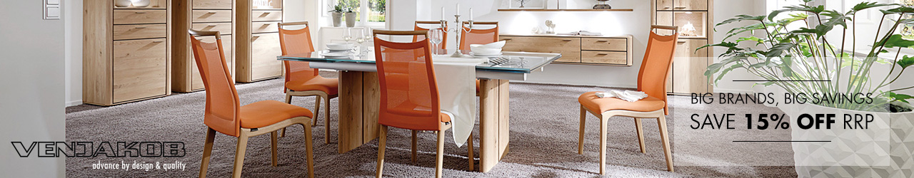 Venjakob — advance by design and quality at Forrest and save 15% off rrp.