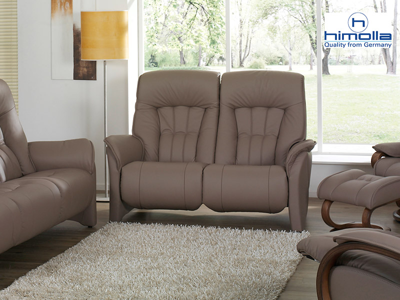 Rhine 2 Seat Fixed Sofa