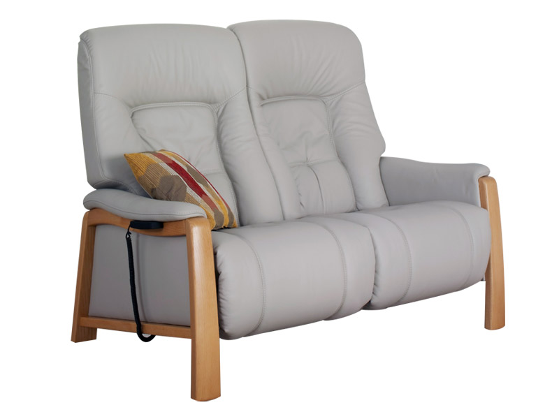 Themse 2 Seat Electric Recliner Sofa with Wood Arms