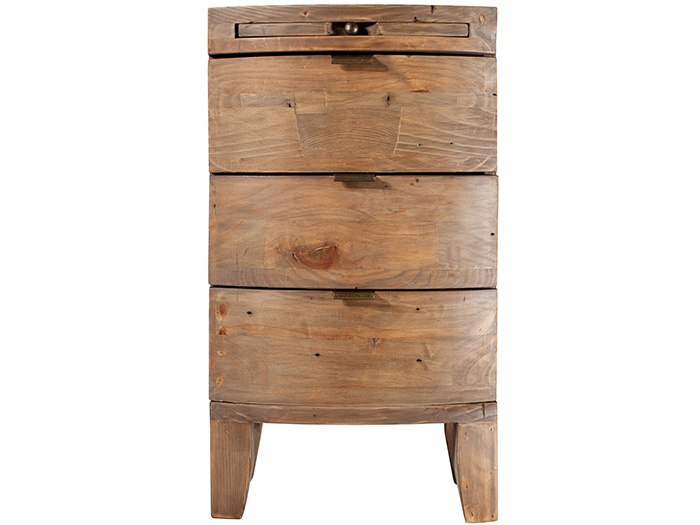 Honduras 3 Drawer Bedside Chest
