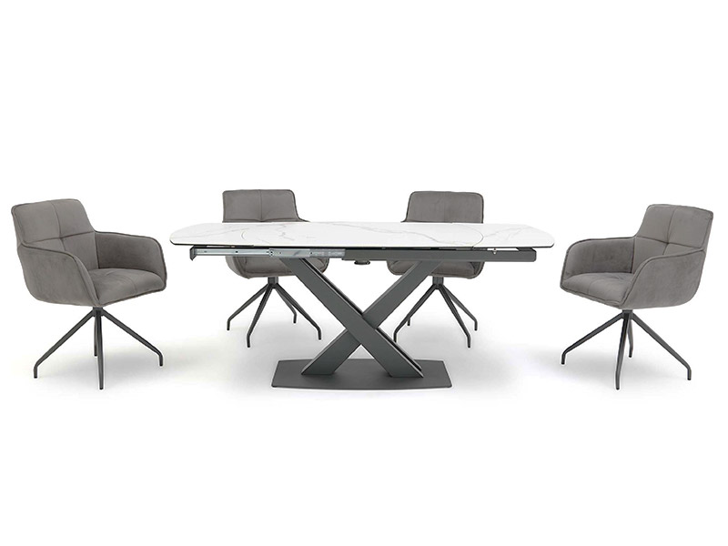 Gabriel Dining Table and 4 Chairs