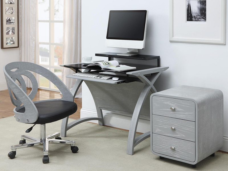 Lucena 900 Desk in Grey
