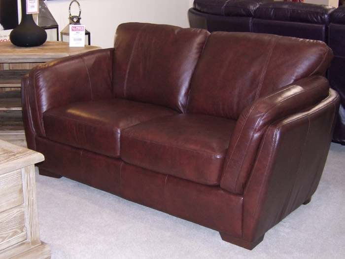 Jupiter 2 Seat Leather Sofa