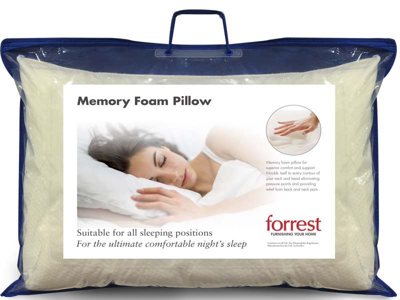 Forrest Deluxe Memory Foam Pillow