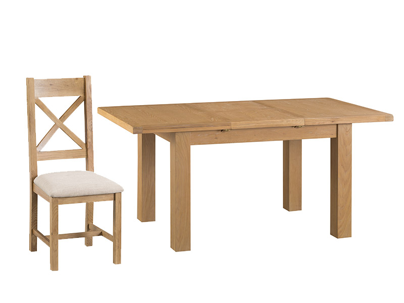 Ashbourne 1.25M Dining Table and 4 Chairs