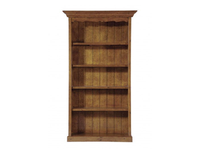 Longboat Dark Oak 5 Shelf Bookcase