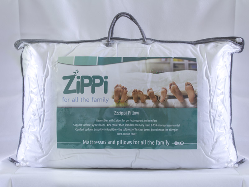 Zzzippi Foam Pillow