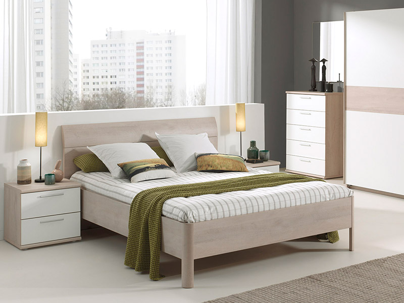Delia Bedframe with Slats