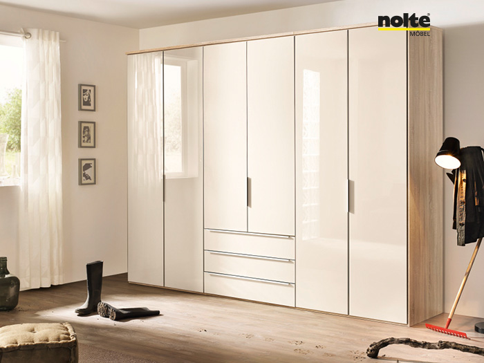 horizon hinged wardrobe system by nolte mobel with nolte mbel