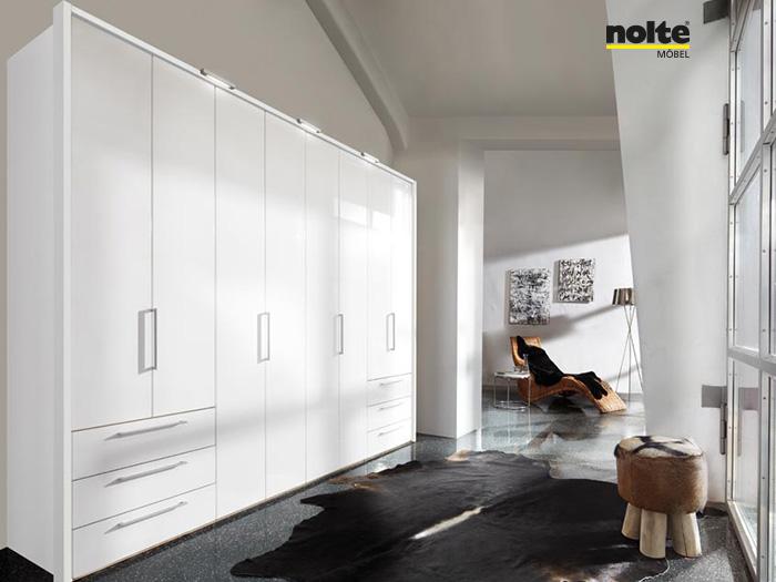Nolte Horizon 7000 Folding Door Wardrobe System Forrest
