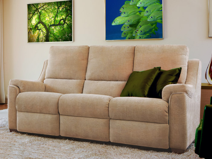 Albany 3 Seat Fabric Sofa