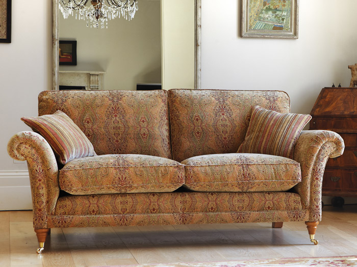 Burghley Standard 2 Seat Fabric Sofa