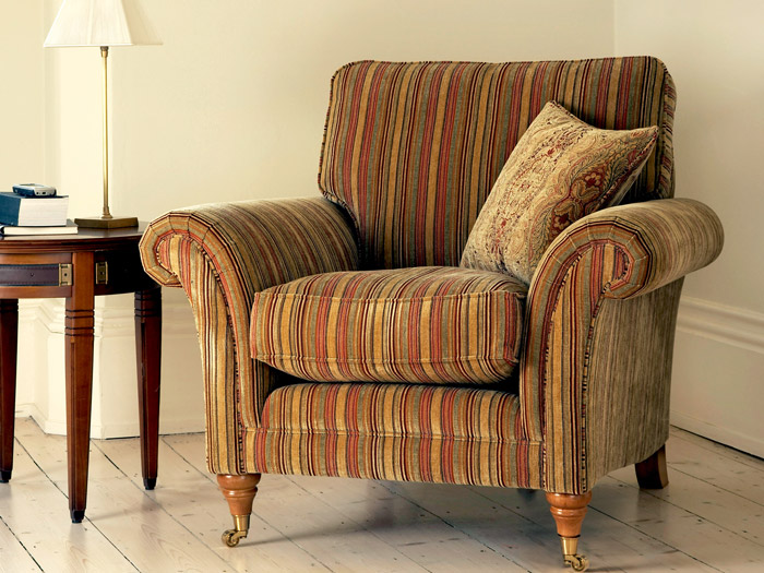 Burghley Fabric Armchair