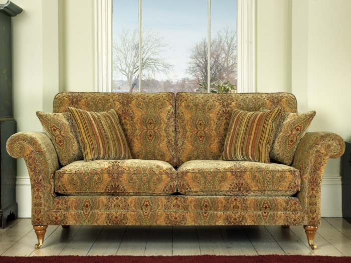 Burghley Large 2 Seat Fabric Sofa