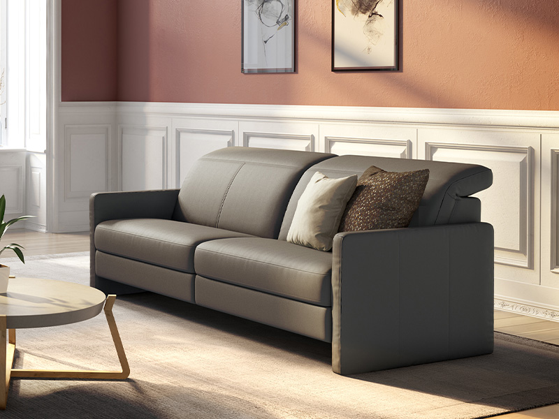 Colorado BB220 Sofa with Headrest