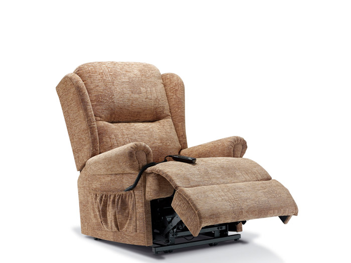 Malvern Royale Dual Motor Lift and Rise Fabric Recliner