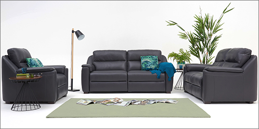 Avila Leather Sofa Collection