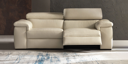 Calabria Leather Sofa Collection