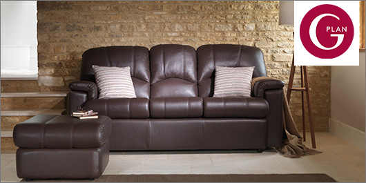 Chloe Leather Sofa Collection