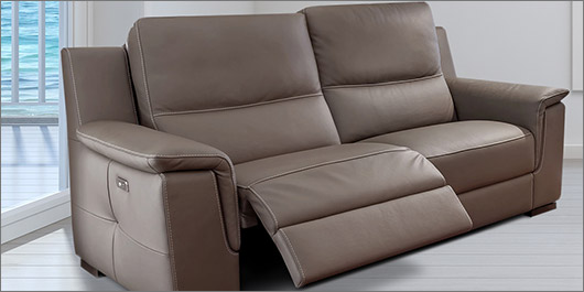 Ostial Leather Sofa Collection