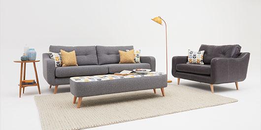 Phoebe Fabric Sofa Collection