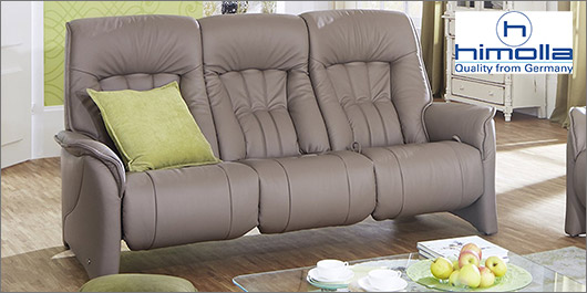 Rhine Leather Sofa Collection