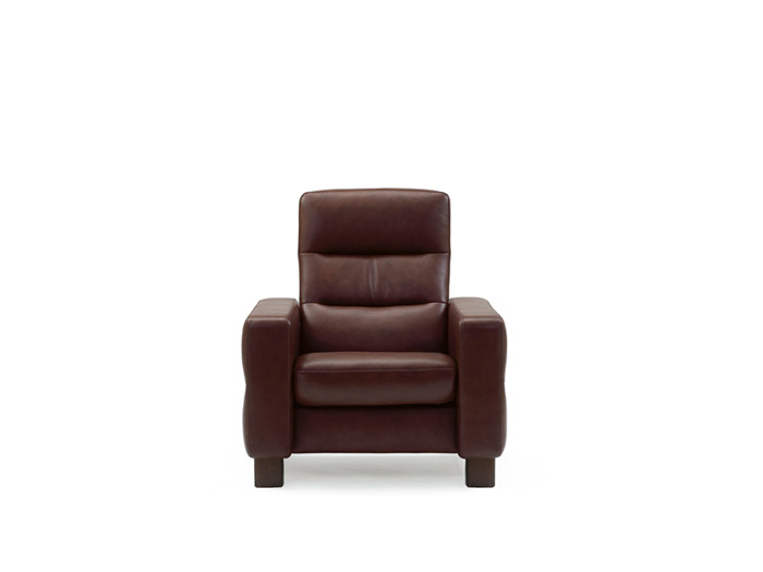 Wave Chair Highback in Batick Leather
