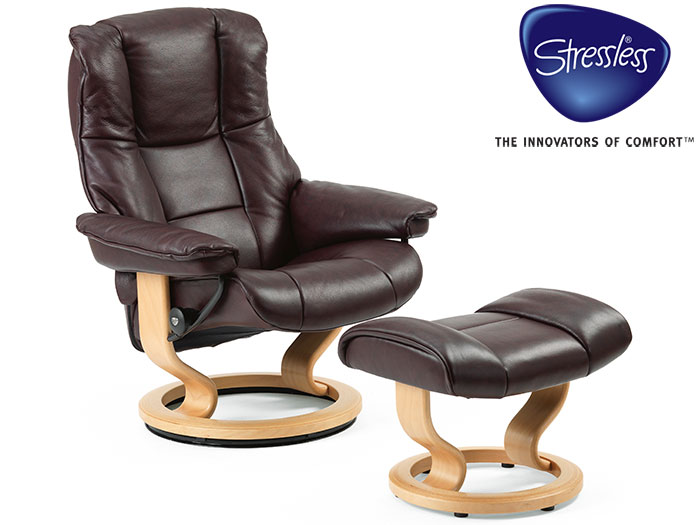Mayfair Recliner in Paloma Leather