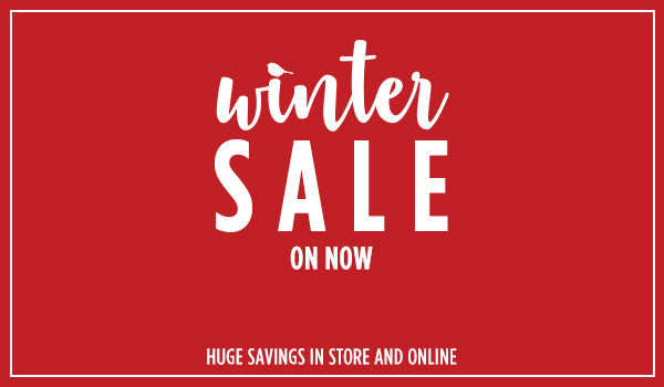The Forrest Furnishing Winter Sale on now.