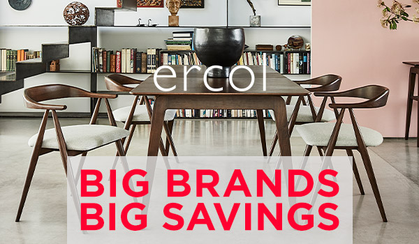 Big Brands Big Savings at Forrest Furnishing.