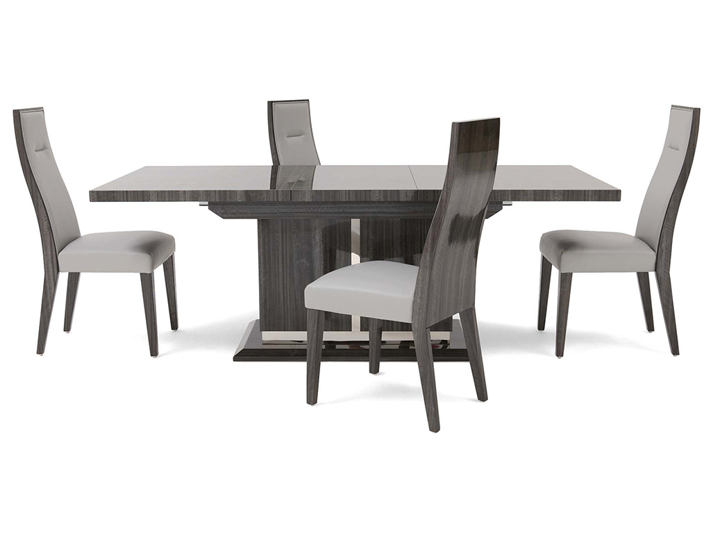 Tridiva Extending Dining Table and 4 Chairs