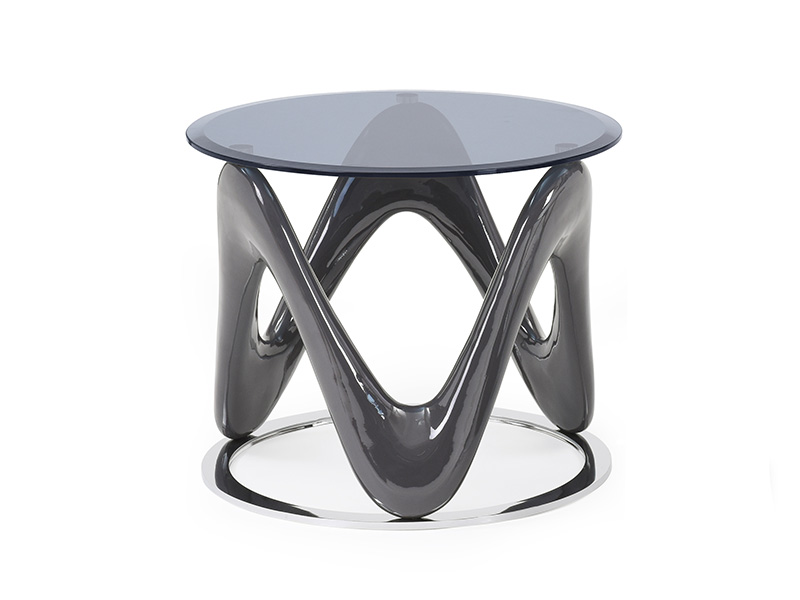 Anna Circular End Table