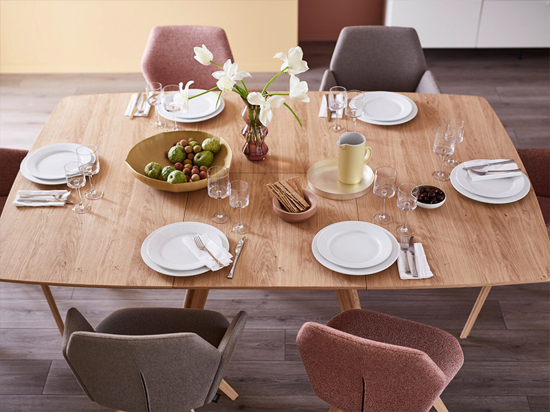 Andra Extend Square Dining Table