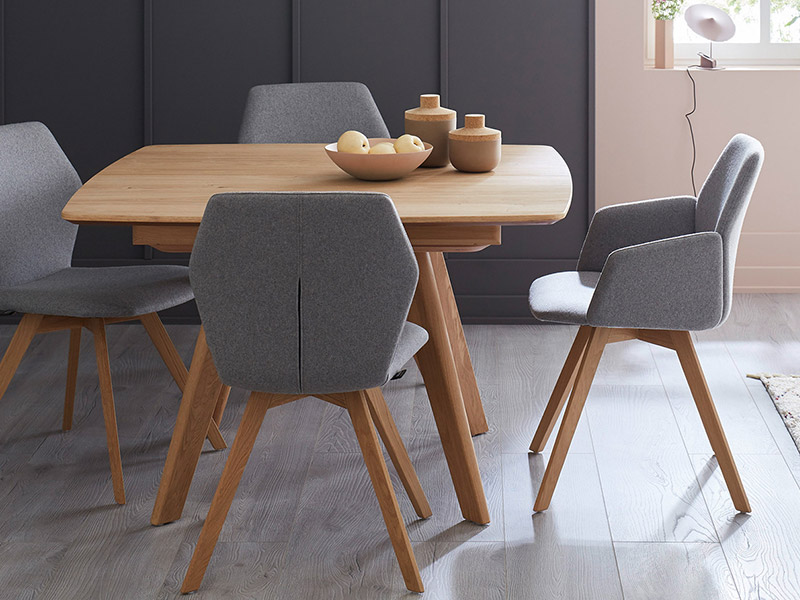 Andra Extend Square Dining Table Forrest Furnishing