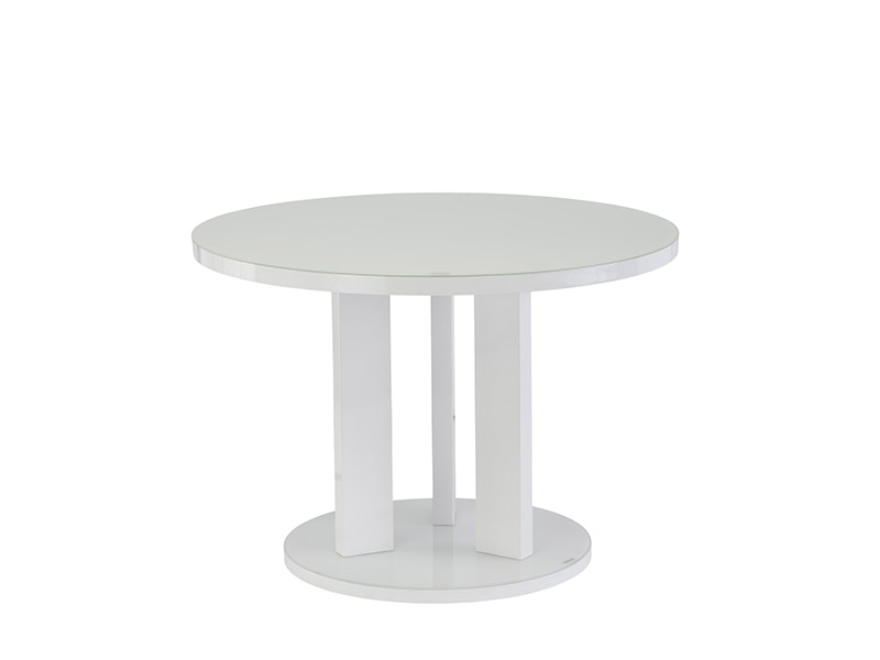 Ellie White Dining Table