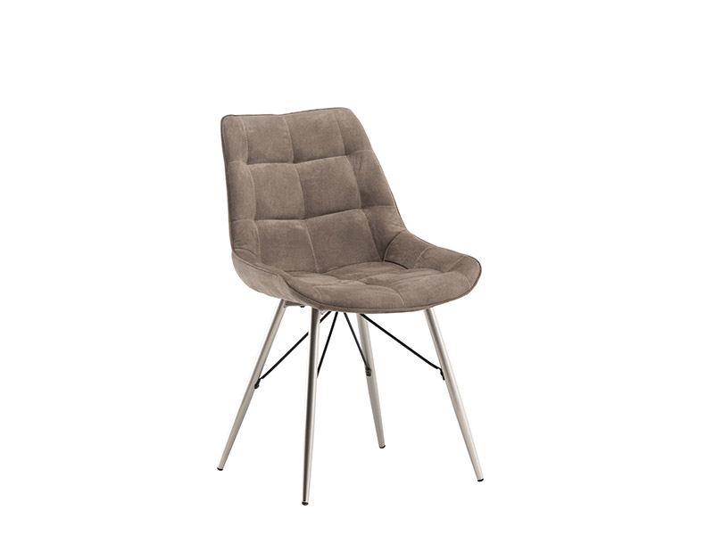 Nova Dining Chair Taupe Fabric